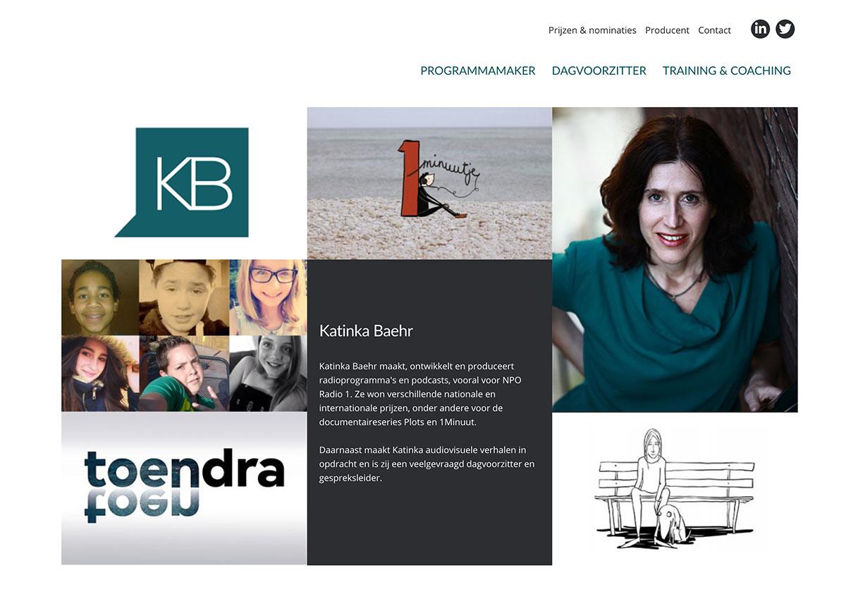 KATINKA BAEHR - PROGRAMMAMAKER